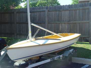 1979 Capri Cyclone sailboat