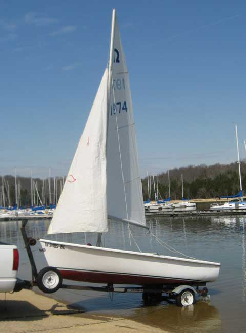 Capri Omega 14 sailboat