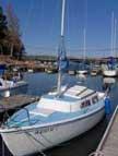 1974 Catalina 22 sailboats