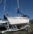 1986 Catalina 25 sailboat