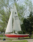 1976 Dolphin 17 sailboat