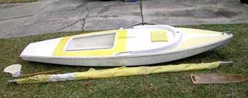 1973 Dolphin Senior sailboat