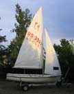 1973 Flying Junior sailboat
