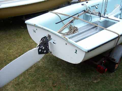 Boat Trailer Wiring >> Club Flying Junior sailboat for sale