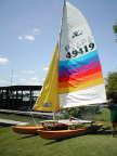 Hobie 14 Turbo sailboat