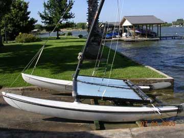 1985 Hobie 14 sailboat