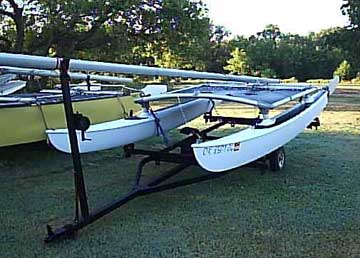 1971 Hobie 14 sailboat