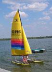 1984 Hobie 14 sailboat