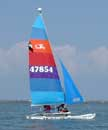 Hobie 14 sailboats
