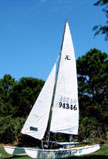 1990 Hobie 16 sailboat