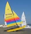 1987 Hobie 16 sailboat