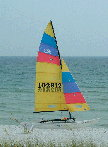 1999 Hobie 16 sailboat
