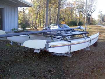 1980 Hobie 16 sailboat