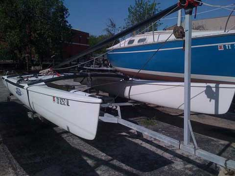 Hobie 17 sailboat