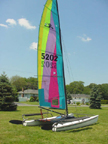 Hobie 17 sailboats