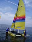 1985 Hobie 18 sailboat
