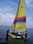 1985 Hobie 18 sailboat