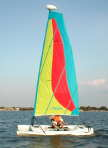 Hobie Bravo sailboat