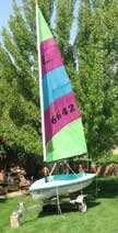 1996 Hobie One sailboat