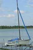 1990 Hobie One 14 sailboat