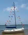 1985 Holder 20 sailboat