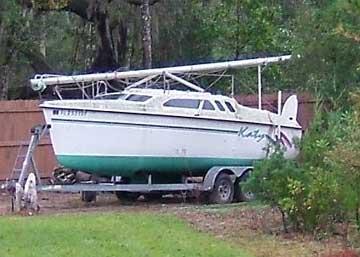 1993 Hunter 23.5 sailboat