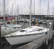 1986 Hunter 28.5 sailboat