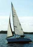 Hunter 336 sailboats