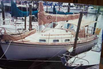 1987 Island Packet 27 sailboat