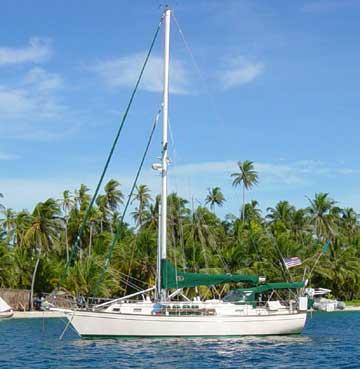 1997 Island Packet 40 sailboat