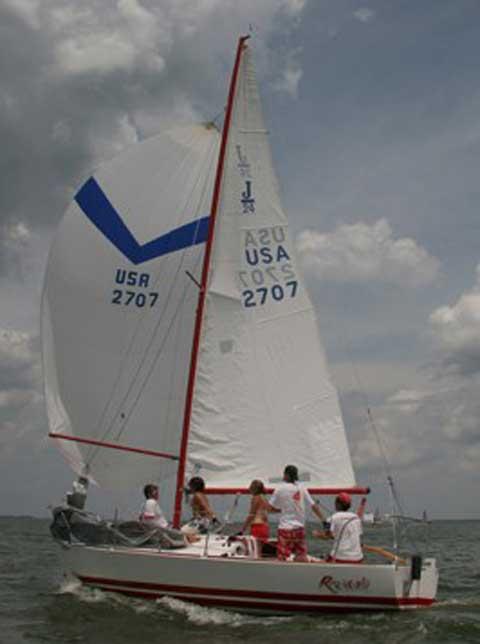 J/24 sailing boat