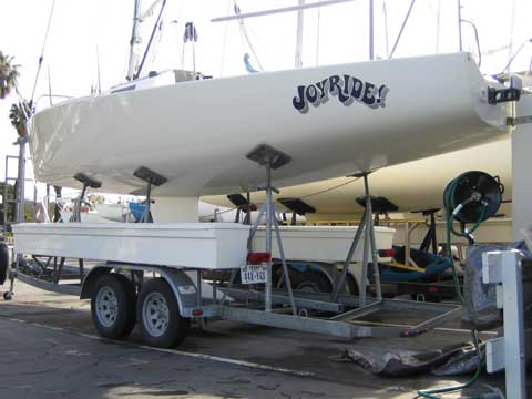 J/80 sailing boat