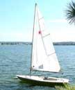 1983 Laser sailboat