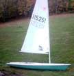 1975 Laser sailboat
