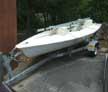 1992 Laser sailboat