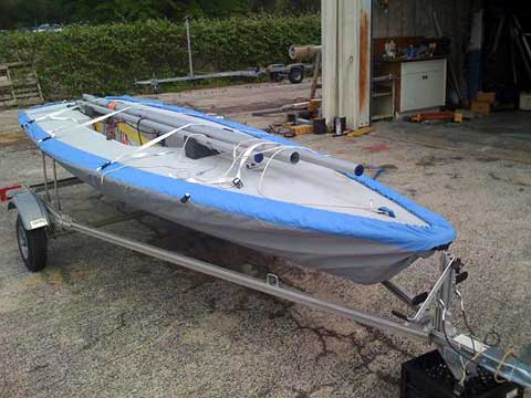 Laser Pro/Race sailboat