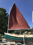 2000 ComPac Picnic Cat sailboat