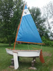 Dyer Midget dinghy sailboat