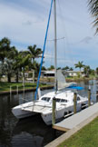 1976 Iroquois MKII catamaran, 30 ft., sailboat