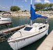 1987 Catalina 22 sailboat