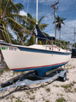 1987 Compac 19 sailboat