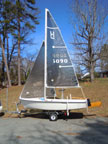 Holder 14 sailboat