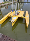 2015 SeaClipper 16 Trimaran sailboat