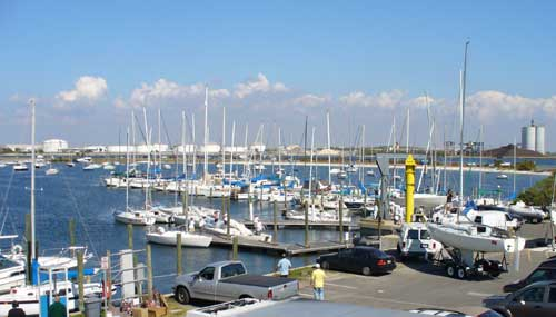 Davis Island Yacht Club docks