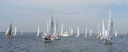 getting ready to start race 1