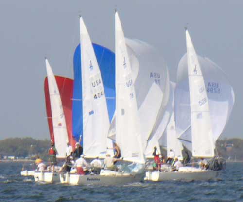 race 8 downwind