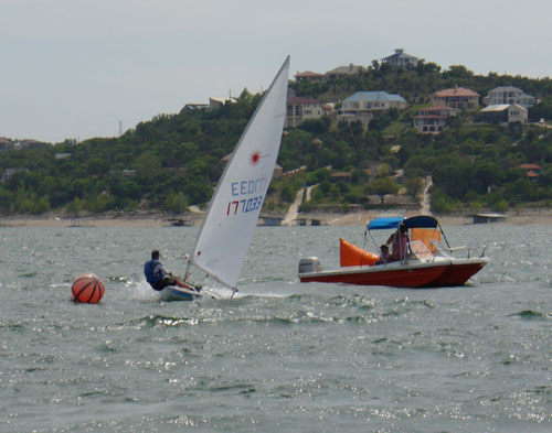 Scott Young, first race 3