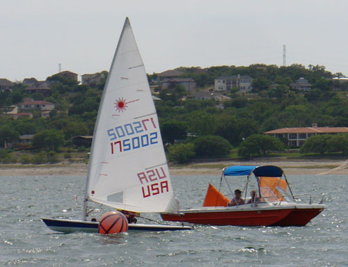 Fred Scroth, third race 3