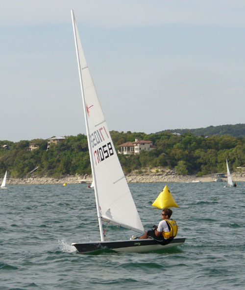 Mark Hulings, 1st place race 5