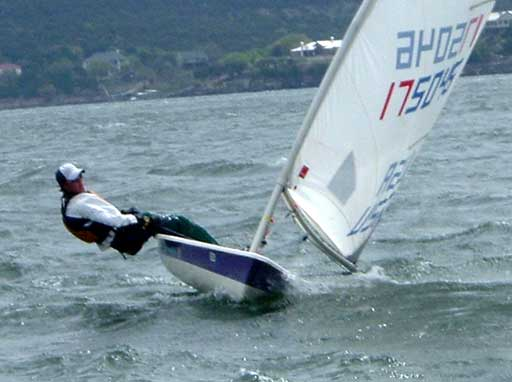 Tim Fitzgerald, 3 in the radial fleet, took 2nd in race 5